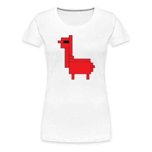 HiRes llama png - Women's Premium T-Shirt