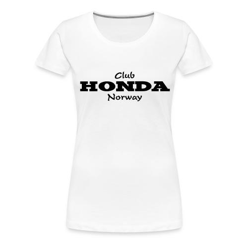 CH logo Vektor - Premium T-skjorte for kvinner