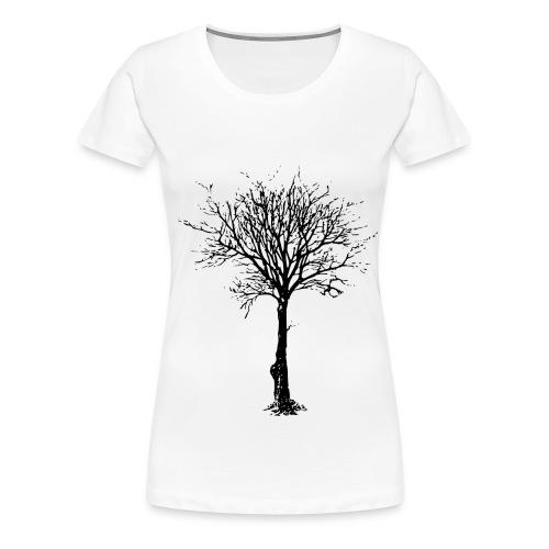 BareTree.png - Camiseta premium mujer