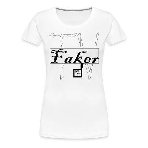 Faker TV on YT png - Frauen Premium T-Shirt