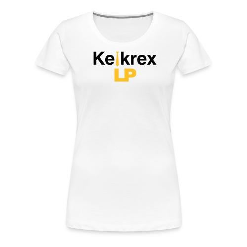 KelkrexLP schwarz - Frauen Premium T-Shirt