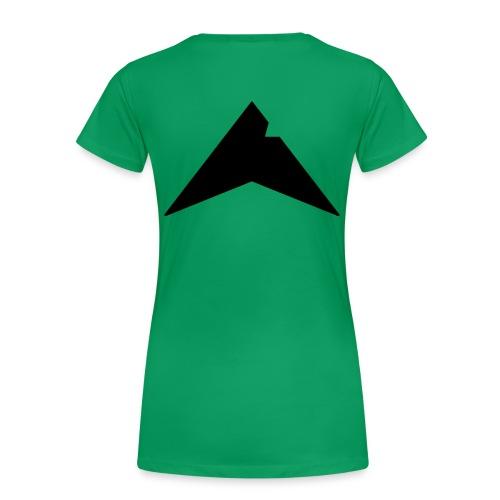 UP-CLAN Logo - Vrouwen Premium T-shirt