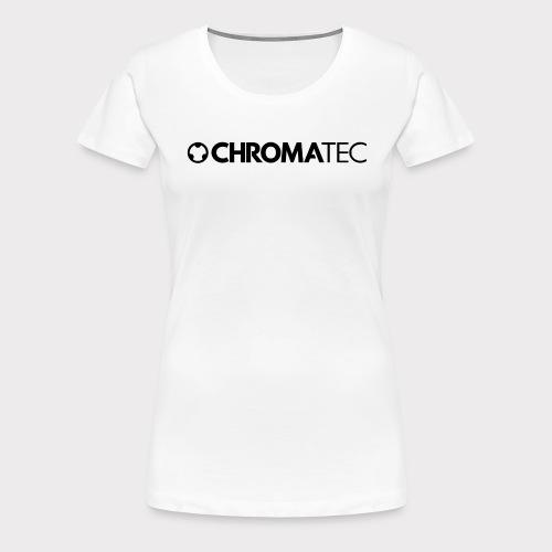 ChromaTec Logo - Frauen Premium T-Shirt