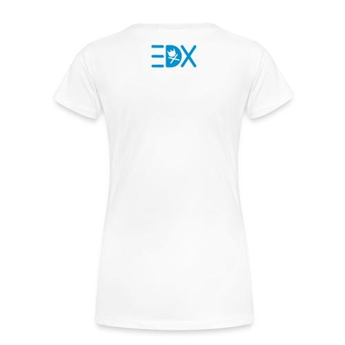 EDX Typo with Icon - Women's Premium T-Shirt