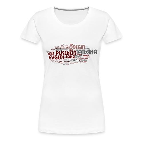 Puschkin - Frauen Premium T-Shirt