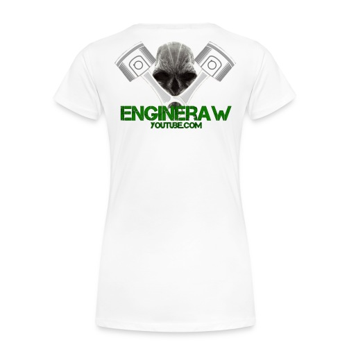 Engineraw - Premium T-skjorte for kvinner