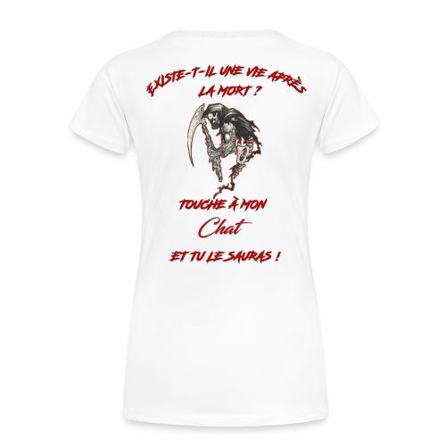 Impression T Shirt ROUGE png - T-shirt Premium Femme