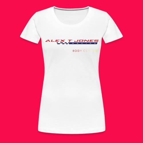 alex t jones racing logo CLEAR BKGD copy png - Women's Premium T-Shirt