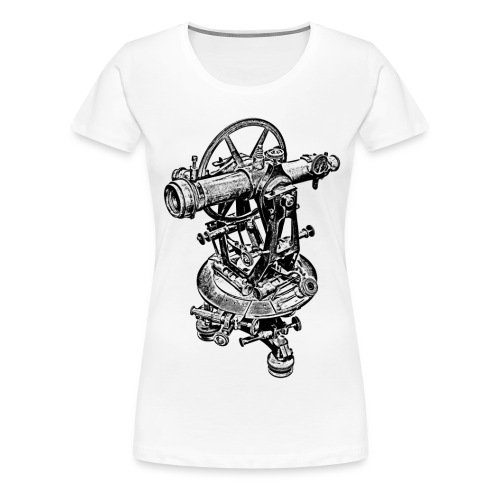 Old Theodolite Hoodie - Women's Premium T-Shirt