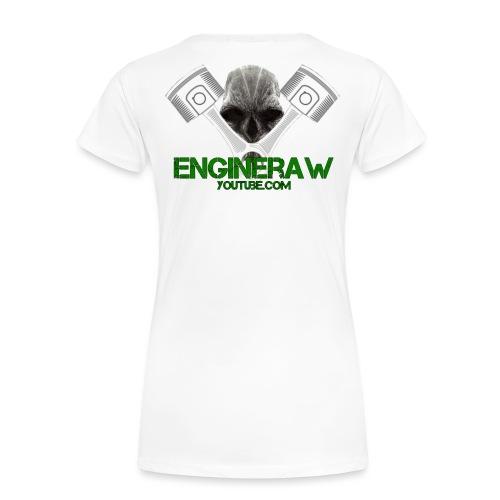 Engineraw - Premium T-skjorte for kvinner