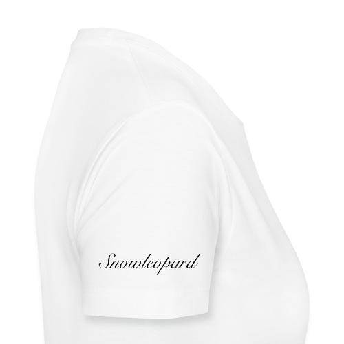 snowleopard - schneeleopard/ Wintergeschenk - Frauen Premium T-Shirt