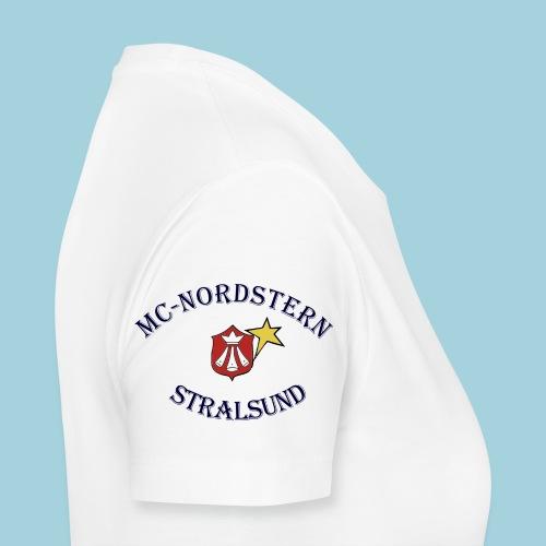 MC Nordstern Schrift gebogen - Frauen Premium T-Shirt