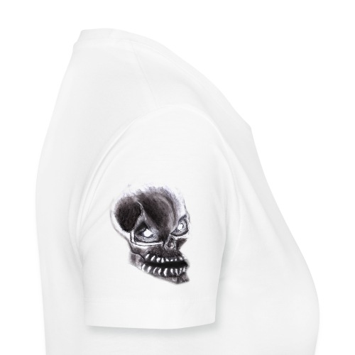 Angry skull - Frauen Premium T-Shirt