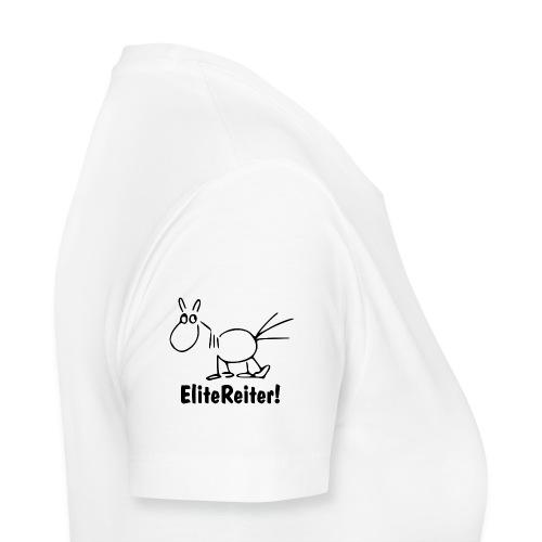 Bei X halten - EliteReiter! - Frauen Premium T-Shirt