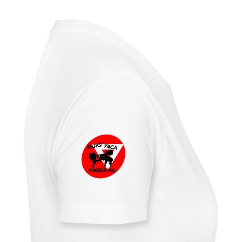Belfast YMCA Powerlifting Logo - Women's Premium T-Shirt