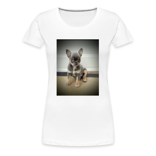 Cute Chihuahua Puppy - Women's Premium T-Shirt