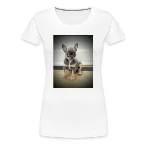 Cute Chihuahua Puppy - Women's Premium T-Shirt
