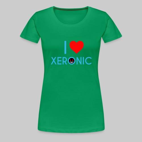 I Love Xeronic   for men - Women's Premium T-Shirt
