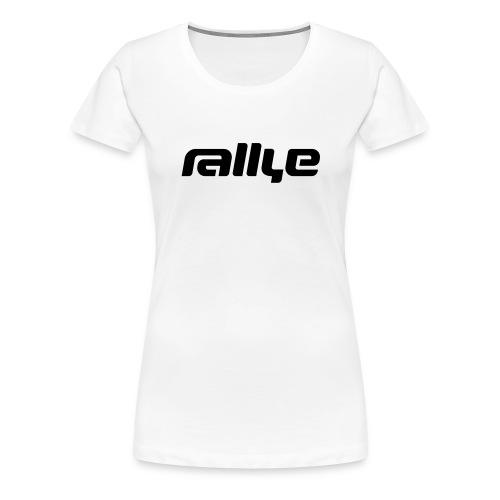 rallye 2016 - Frauen Premium T-Shirt