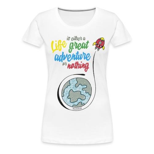 YAAKH DESIGNS - T-shirt Premium Femme