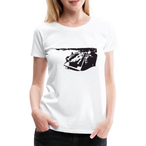 Yokohama Port Terminal Bl - Women's Premium T-Shirt