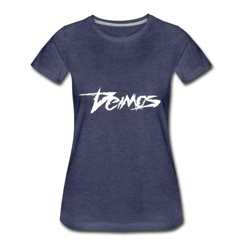 Deimos Logo White - Women's Premium T-Shirt