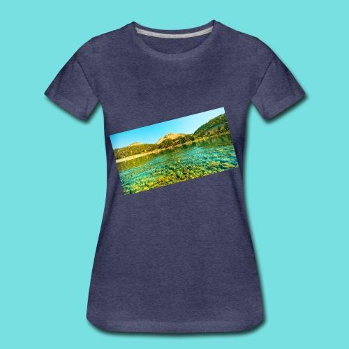 Nature (MALE) - Women's Premium T-Shirt