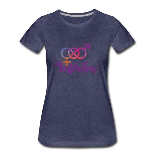 intersex symbol der intersexualität - Frauen Premium T-Shirt