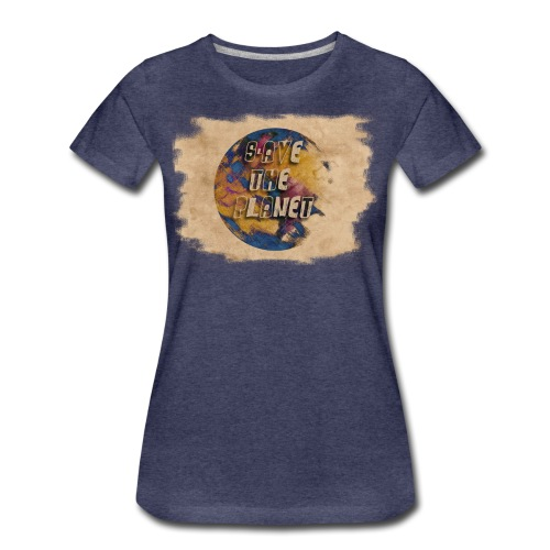 S(l)ave the planet - Frauen Premium T-Shirt