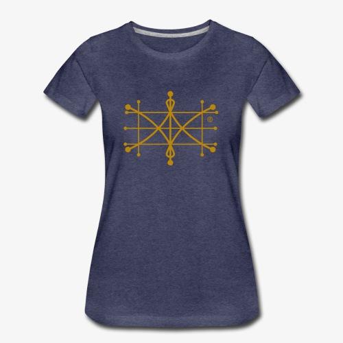 ParaWhisp Gold - beidseitig bedruckt - Frauen Premium T-Shirt
