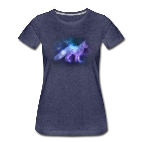 Starry Fox - T-shirt Premium Femme