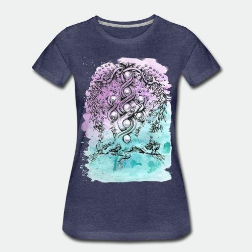 Yggdrasil - Women's Premium T-Shirt