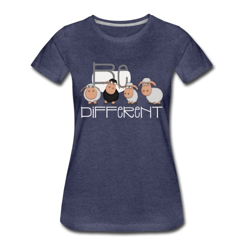 Coole Be different Schafe Gang - Gute Laune Schaf - Frauen Premium T-Shirt