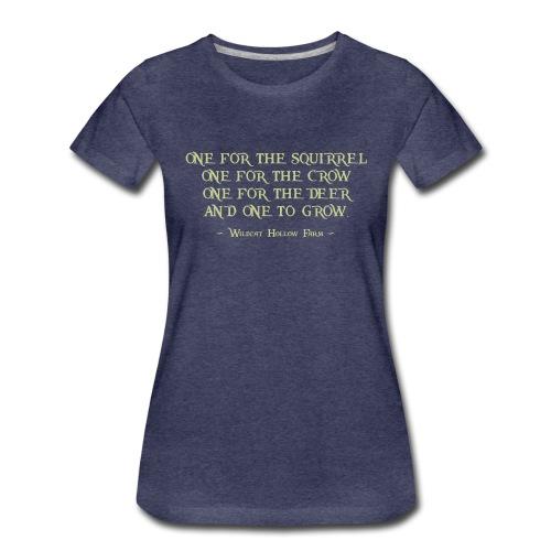 rule of 4 - Frauen Premium T-Shirt