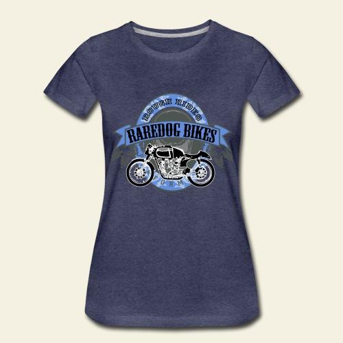 raredog bikes - Dame premium T-shirt