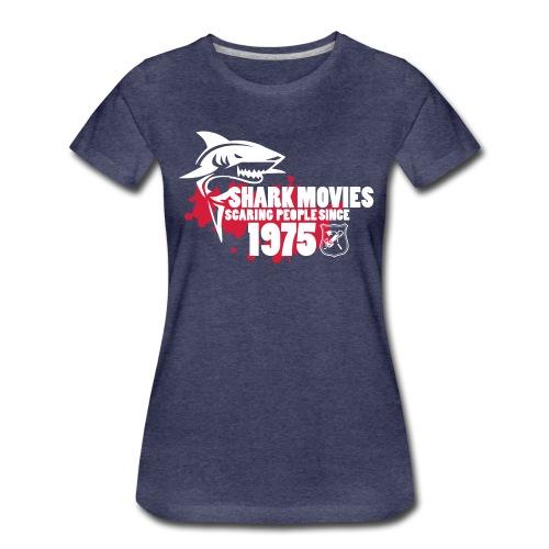 Shark Movies - Frauen Premium T-Shirt