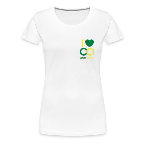 i love oa - Frauen Premium T-Shirt