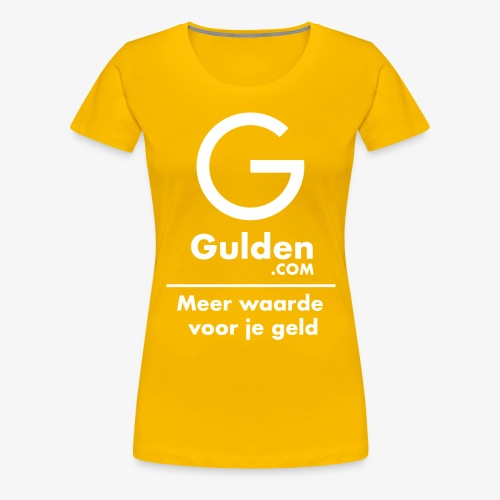 NLG - Gold Cryptocurrency - Early Adopter - Women's Premium T-Shirt
