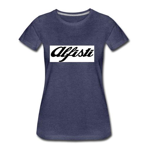 Alfisti (Big Logo) Raglan Rosso Longsleeve - Women's Premium T-Shirt