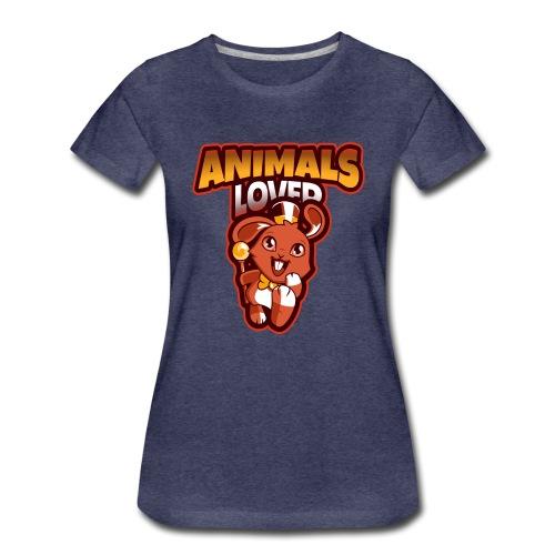 animals lover - Women's Premium T-Shirt