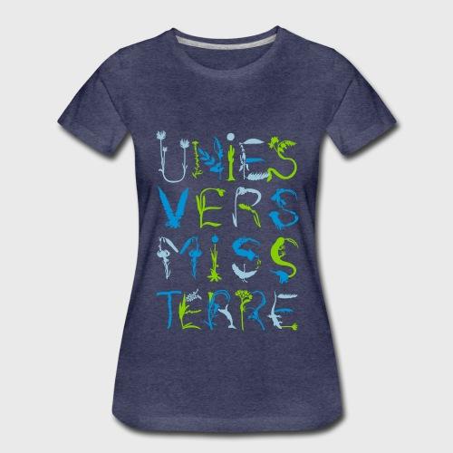 Univers Mystère - T-shirt Premium Femme