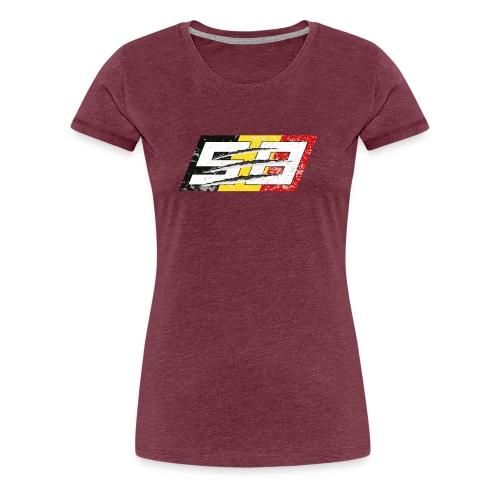 #58 - Eye of the Tiger - T-shirt Premium Femme