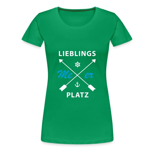 Lieblingsplatz Meer - Frauen Premium T-Shirt