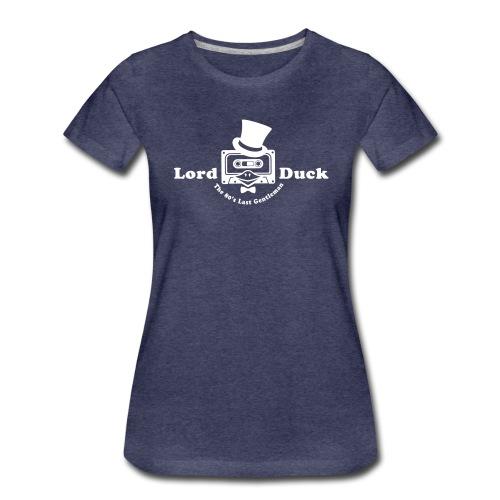 80er T-Shirt ✫ The 80s Last Gentleman ✫ 80s Music - Frauen Premium T-Shirt