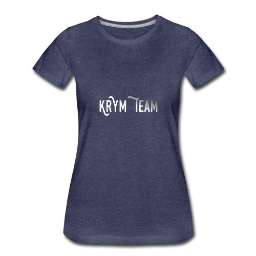 Pullover Hoodie - Women's Premium T-Shirt