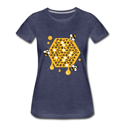 Sauver les abeilles - T-shirt Premium Femme