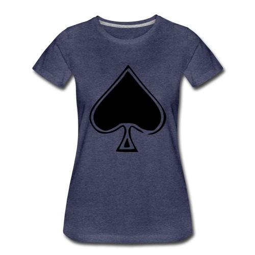 Spade - Naisten premium t-paita