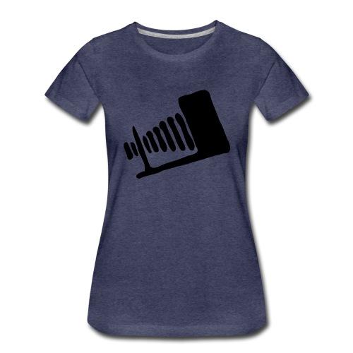 Valokuvausmies - Naisten premium t-paita