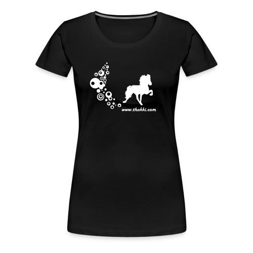 bubbletoelter - Frauen Premium T-Shirt