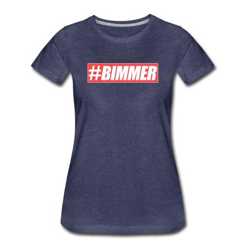 Bimmer Red Brand PNG png - Frauen Premium T-Shirt